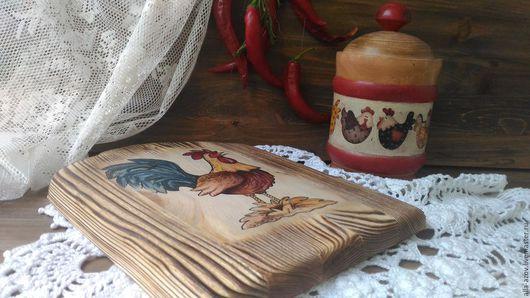"""Кухня ручной работы. Ярмарка Мастеров - ручная работа. Купить Набор в стиле """" Кантри"""". Handmade. Бежевый, доска из дерева"""