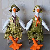 Куклы и игрушки ручной работы. Ярмарка Мастеров - ручная работа Тильда Гуси. Handmade.