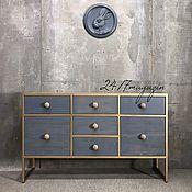 Для дома и интерьера handmade. Livemaster - original item Chest of drawers GOLD BILLION. Handmade.