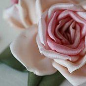 """Украшения ручной работы. Ярмарка Мастеров - ручная работа Брошь """"Английские розы"""". Handmade."""