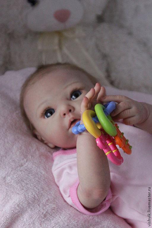 Куклы-младенцы и reborn ручной работы. Ярмарка Мастеров - ручная работа. Купить Лолочка. Handmade. Кукла ручной работы, синтепух