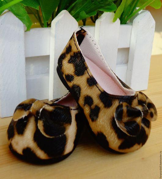 Куклы и игрушки ручной работы. Ярмарка Мастеров - ручная работа. Купить Туфли для кукол, 6,5см. Handmade. Комбинированный