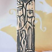 Русский стиль handmade. Livemaster - original item Svarozhy Triglav (Svarog, Perun, Veles). Handmade.