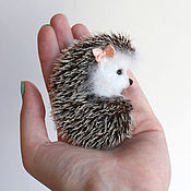 Brooches handmade. Livemaster - original item Brooch Hedgehog. Handmade.