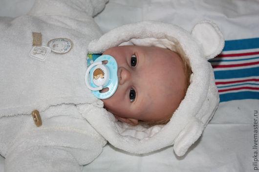 """Куклы-младенцы и reborn ручной работы. Ярмарка Мастеров - ручная работа. Купить """"Новорожденный"""" Петенька. Кукла реборн.. Handmade. текстиль"""