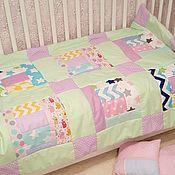 """Одеяла ручной работы. Ярмарка Мастеров - ручная работа Лоскутное одеяло """"Нежность"""". Handmade."""