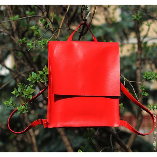 Рюкзаки ручной работы. Ярмарка Мастеров - ручная работа. Купить Рюкзак GoTravel Lady Red 3.0. Handmade.