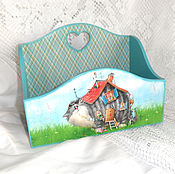 Для дома и интерьера handmade. Livemaster - original item Box cat house. Handmade.