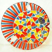 """Для дома и интерьера ручной работы. Ярмарка Мастеров - ручная работа Блюдо """" Рыба- Луна"""". Handmade."""