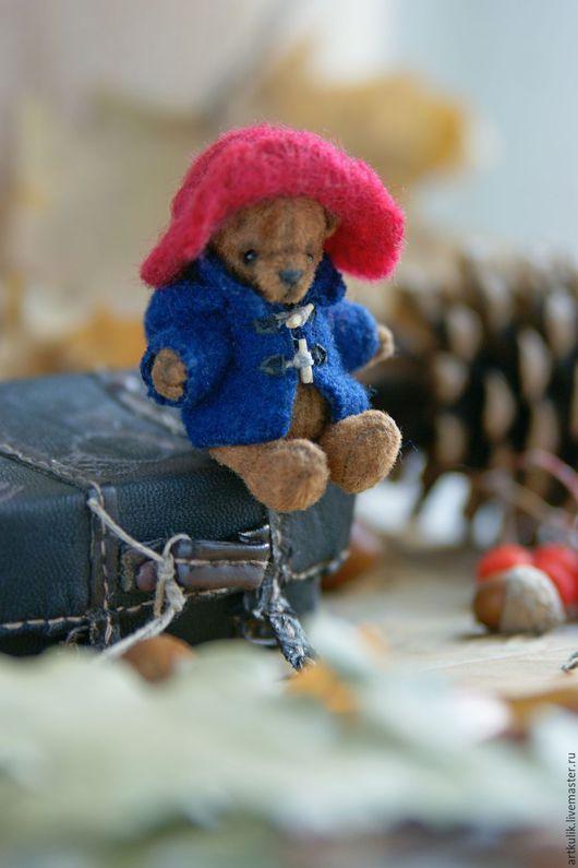 Мишки Тедди ручной работы. Ярмарка Мастеров - ручная работа. Купить Медвежонок Падди. Handmade. Коричневый, игрушка ручной работы