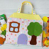 Куклы и игрушки handmade. Livemaster - original item Dollhouse-handbag. Handmade.