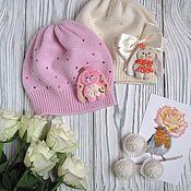 """Работы для детей, ручной работы. Ярмарка Мастеров - ручная работа Шапочка для девочки """"Малышка"""". Handmade."""