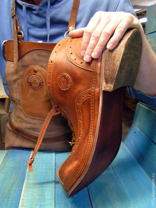 Прихожая ручной работы. Ярмарка Мастеров - ручная работа. Купить ботинок газетница (ЧЕТВЕРТЬ). Handmade. Бежевый, дорогой подарок для дома