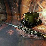 Украшения handmade. Livemaster - original item STEAMPUNK WALKING STICK
