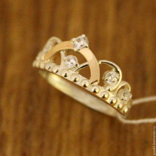 Кольца ручной работы. Ярмарка Мастеров - ручная работа. Купить Серебряное кольцо Корона, серебро 925. Handmade. Серебряный, колечко