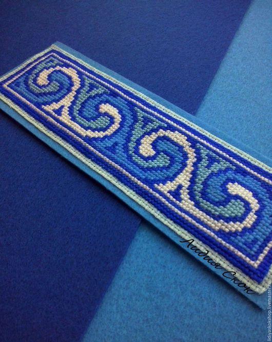 """Закладки для книг ручной работы. Ярмарка Мастеров - ручная работа. Купить Закладка для книги """"Магия синего"""". Handmade. Закладка, синий"""