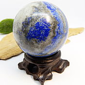 Фен-шуй и эзотерика handmade. Livemaster - original item Lapis ball 52 mm. Handmade.
