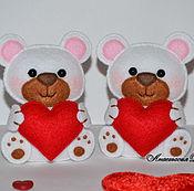 Мишутки с сердечком