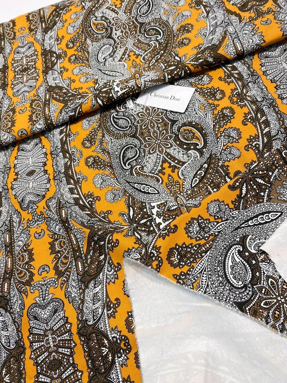 Ткань Котон  натуральный Dior, Италия, Ткани, Белгород,  Фото №1