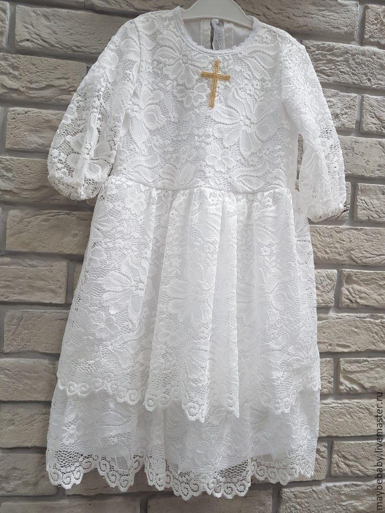 Платья для крестин детей