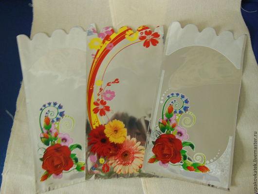 """Упаковка ручной работы. Ярмарка Мастеров - ручная работа. Купить Пакет подарочный """"Цветы"""". Handmade. Пакет, пакеты, упаковка для мыла"""