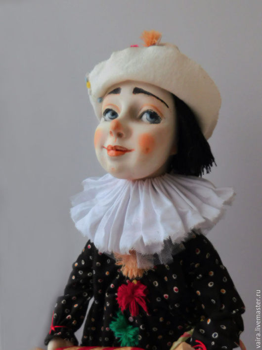 Коллекционные куклы ручной работы. Ярмарка Мастеров - ручная работа. Купить Клоун Антошка. Handmade. Кукла ручной работы