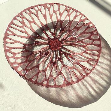 """Посуда ручной работы. Ярмарка Мастеров - ручная работа Блюдо """"Кораллы"""". Handmade."""
