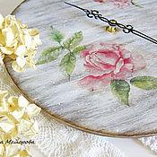 """Для дома и интерьера ручной работы. Ярмарка Мастеров - ручная работа Часы """"Простые радости"""". Handmade."""