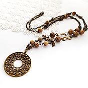 handmade. Livemaster - original item Necklace-chain Avignon. Handmade.