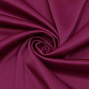 Ткани ручной работы. Ярмарка Мастеров - ручная работа ткань сатин костюмный лиловый   со стрейчем. Handmade.