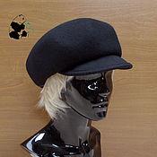 Аксессуары handmade. Livemaster - original item Stylish women`s felt hat. Two colors. Handmade.