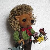 Куклы и игрушки ручной работы. Ярмарка Мастеров - ручная работа Ёжик Сёма. Handmade.