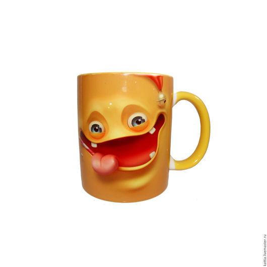 """Кружки и чашки ручной работы. Ярмарка Мастеров - ручная работа. Купить Кружка""""Banana"""". Handmade. Желтый, другу, чашка в подарок, лимон"""
