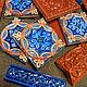 Finished tiled fireplace. Fireplaces. Vesta Ceramica (Vesta-Ceramica). My Livemaster. Фото №4
