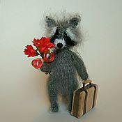 Куклы и игрушки ручной работы. Ярмарка Мастеров - ручная работа Крошка енот.. Handmade.