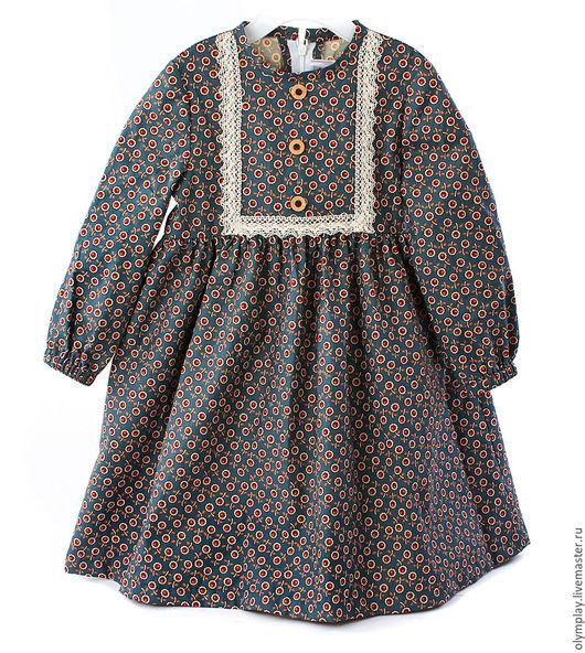 Одежда для девочек, ручной работы. Ярмарка Мастеров - ручная работа. Купить Детское платье - ручная работа (200386). Handmade. Цветочный