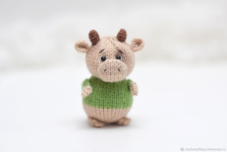 Год Быка 2021, игрушка бык подарок на новый год, сувенир бык, Год Быка, Москва,  Фото №1