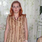 Одежда ручной работы. Ярмарка Мастеров - ручная работа Жилет комбинированный. Handmade.