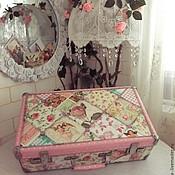 Для дома и интерьера handmade. Livemaster - original item A suitcase of