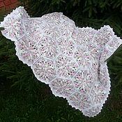 Работы для детей, handmade. Livemaster - original item Plaid baby, crochet. Handmade.