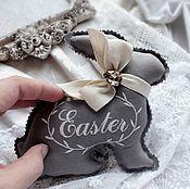 Подарки к праздникам ручной работы. Ярмарка Мастеров - ручная работа Пасхальный кролик, с запахом лаванды. Handmade.