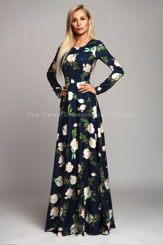 Платье летнее своими руками нарядное фото 777