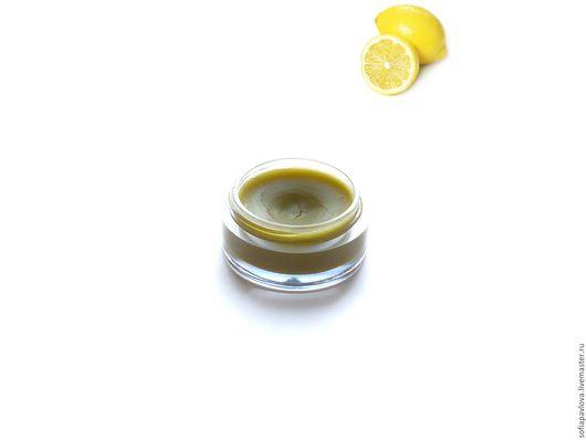 Крем, гель, сыворотка ручной работы. Ярмарка Мастеров - ручная работа. Купить Воск для ногтей зеленый чай - лимон. Handmade.