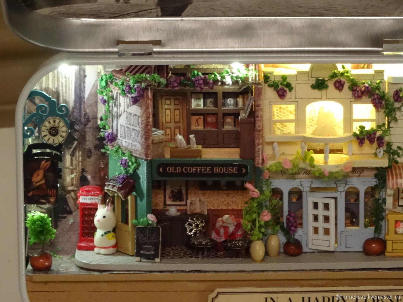 Домик со светом. Домик в шкатулке, Кукольный театр, Тверь,  Фото №1