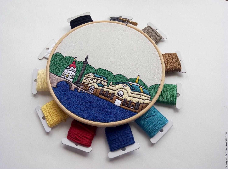 Вышивка на ткани красноярск