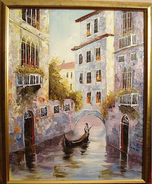 Город ручной работы. Ярмарка Мастеров - ручная работа. Купить Венеция. Handmade. Картина, картина в подарок, картина для интерьера