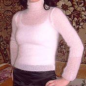 Одежда ручной работы. Ярмарка Мастеров - ручная работа Кофточка из кид-мохера. Handmade.