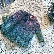 Куклы и игрушки handmade. Livemaster - original item Cardigan sweater for Blythe. Handmade.