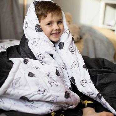 Текстиль ручной работы. Ярмарка Мастеров - ручная работа Плед - одеяло детское. Handmade.