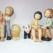 handmade. Livemaster - original item Goebel collectible figure. Handmade.